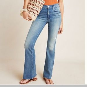 MOTHER The Weekender Mid-Rise Bootcut Jeans